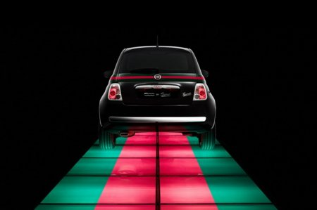 Наташа Поли представила Fiat 500 by Gucci