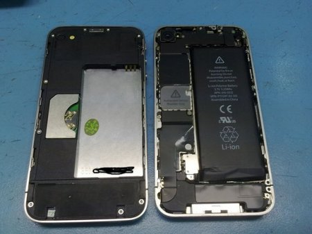Практически идеальная подделка iPhone 4
