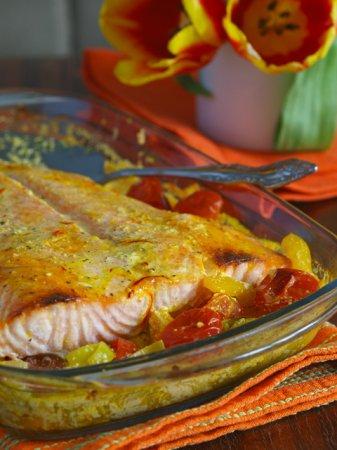 Пасхальный шведский лосось