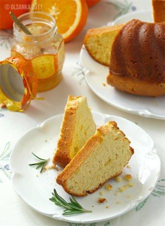 [выпечка] Апельсиновый кекс с розмарином