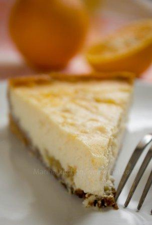 [выпечка] Апельсиновый чизкейк