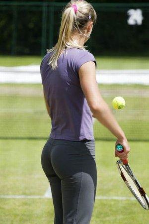 Лучшие попки мирового тенниса