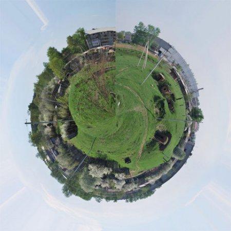 Как сделать планету из фотографии