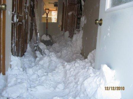 Плотно закрывайте зимой двери!