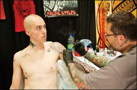 Фестиваль татуировок в Торонто