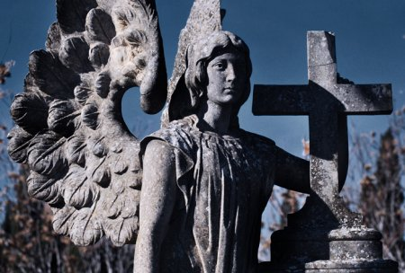 Кладбище Сарагосы (Испания)... Фотограф Carolina Valtuille