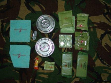 Солдатская еда
