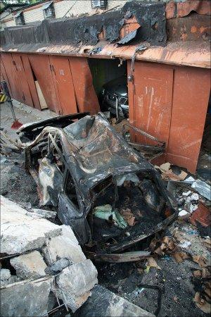 Взрыв метана в гаражах