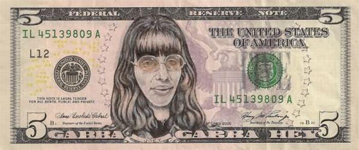 Издевательства над купюрами в $5