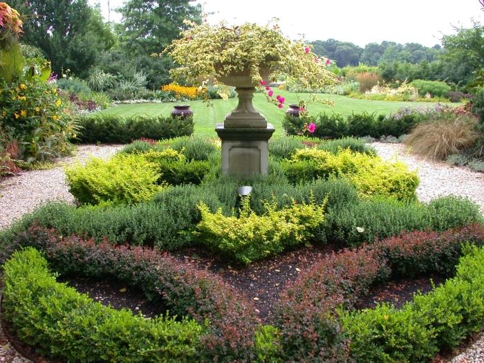 Ландшафтный дизайн цветник сад