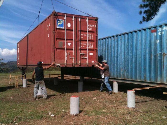 Дом в контейнере