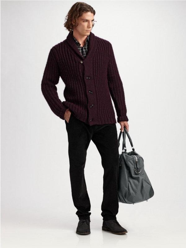 Сумка модная мужская одежда