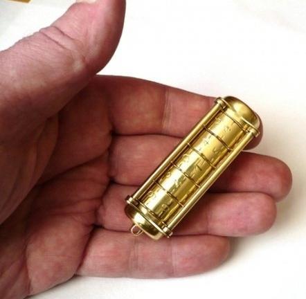 USB-флешка Cryptex - маленькое чудо механики