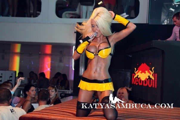 Шоу в Красноярске! фото с выступления Кати Самбуки
