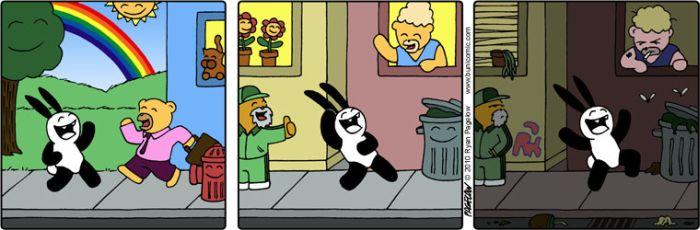 Кролик Буни - неудачник