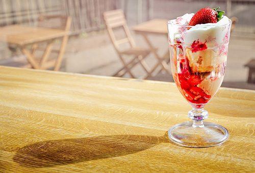 FoodPorn: Десерты с мороженым