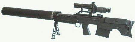 """Снайперская, бесшумная винтовка специального назначения 6C8 ВКС / ВССК """"Выхлоп"""""""