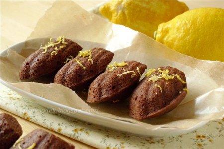 [выпечка] Шоколадно-лимонные мадленки