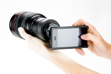 Используем на iPhone объективы от зеркалок