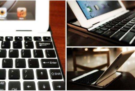 Алюминиевая клавиатура, превращающая iPad 2 в аналог MacBook Air