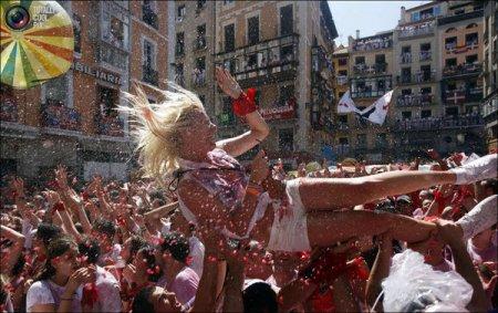 Фестиваль в Памплоне