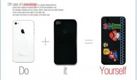 Neostitch - создай свой уникальный чехол для iPhone 4