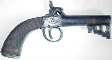Эти удивительные ключи-пистолеты были созданы специально для тюремщиков. ФОТО
