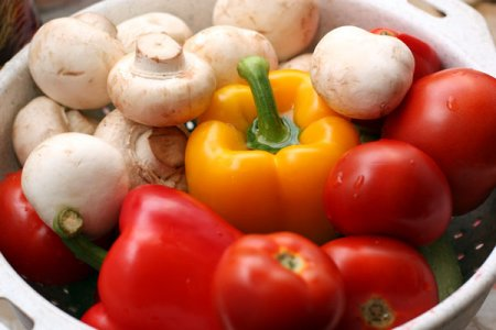 [постное блюдо] Овощи на гриле