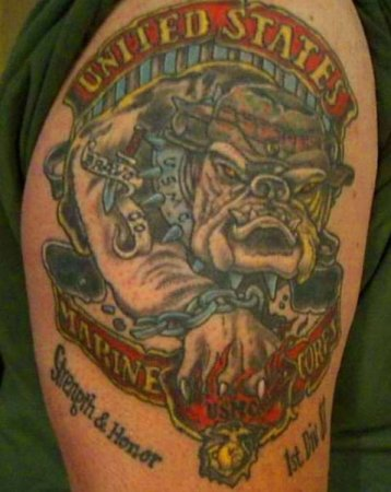 Армейские татуировки спецназа.