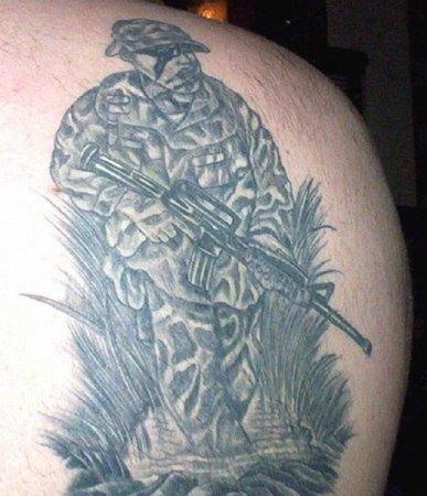 Татуировки спецназа