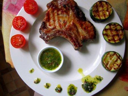 Аргентинский соус Чимичурри (Chimichurri)