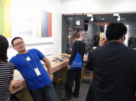 Поддельный магазин Apple в Китае