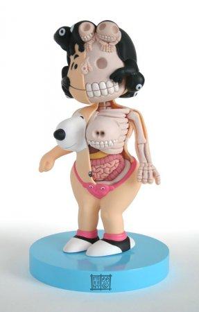 Мама, а что внутри у Барби?
