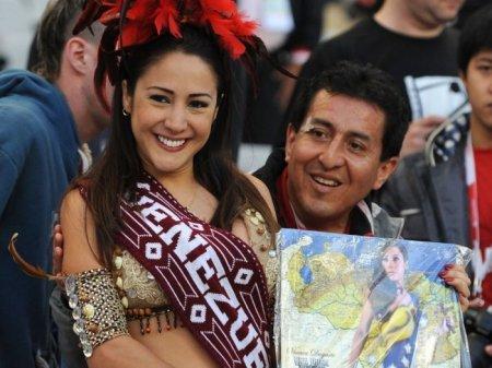 Сексуальные болельщицы Copa America