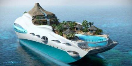 Тропический остров на личной яхте. ФОТО