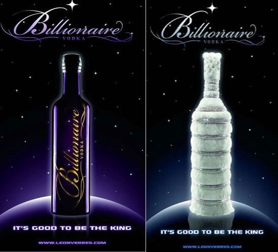 Вестник нищеюрода: Le Billionaire - самая дорогая водка в мире