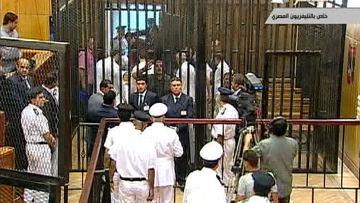 В Египте начался суд над Мубараком