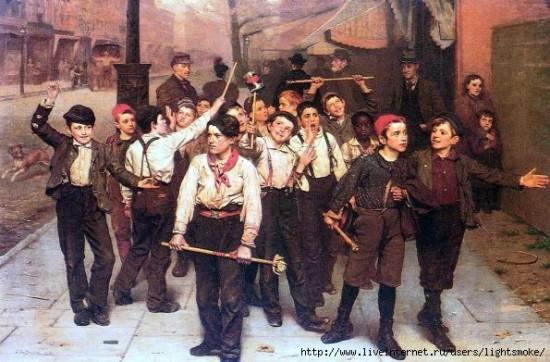 Уличные банды старых времен