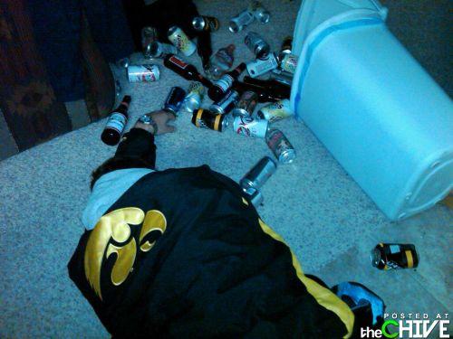 Пьянь!