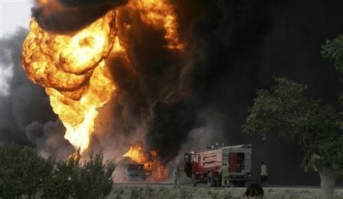 Атака на колонну бензовозов НАТО