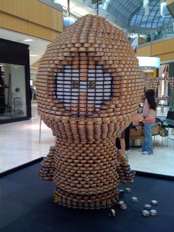 Скульптуры в магазинах