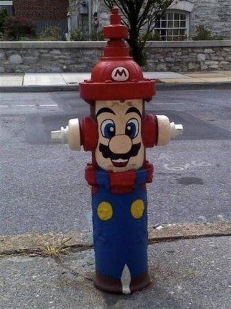 Марио вокруг нас