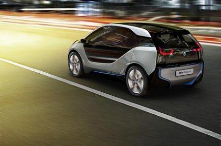 BMW официально представила электрокар i3