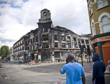 Лондон после погромов