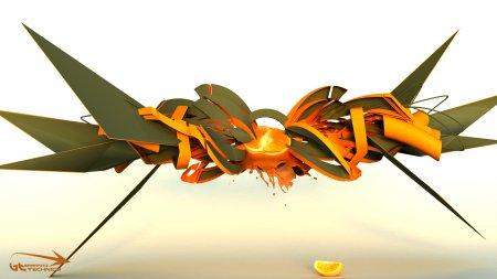 Wallpapers Full HD 3D Graffiti