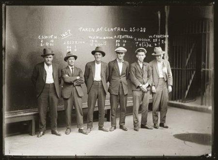 Американские гангстеры начала 20 века