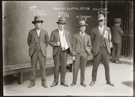 Cамые известные гангстеры  30 х годов