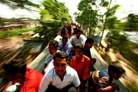 Бангладешские электричкеры