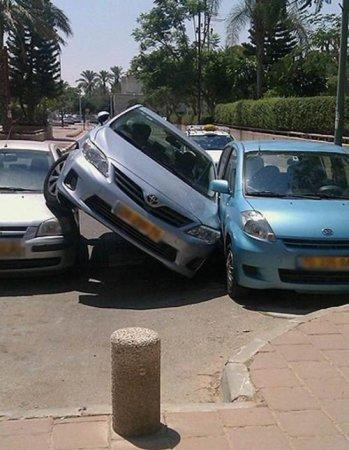 Мастер парковки. ФОТО