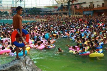 Аквапарк в Китае